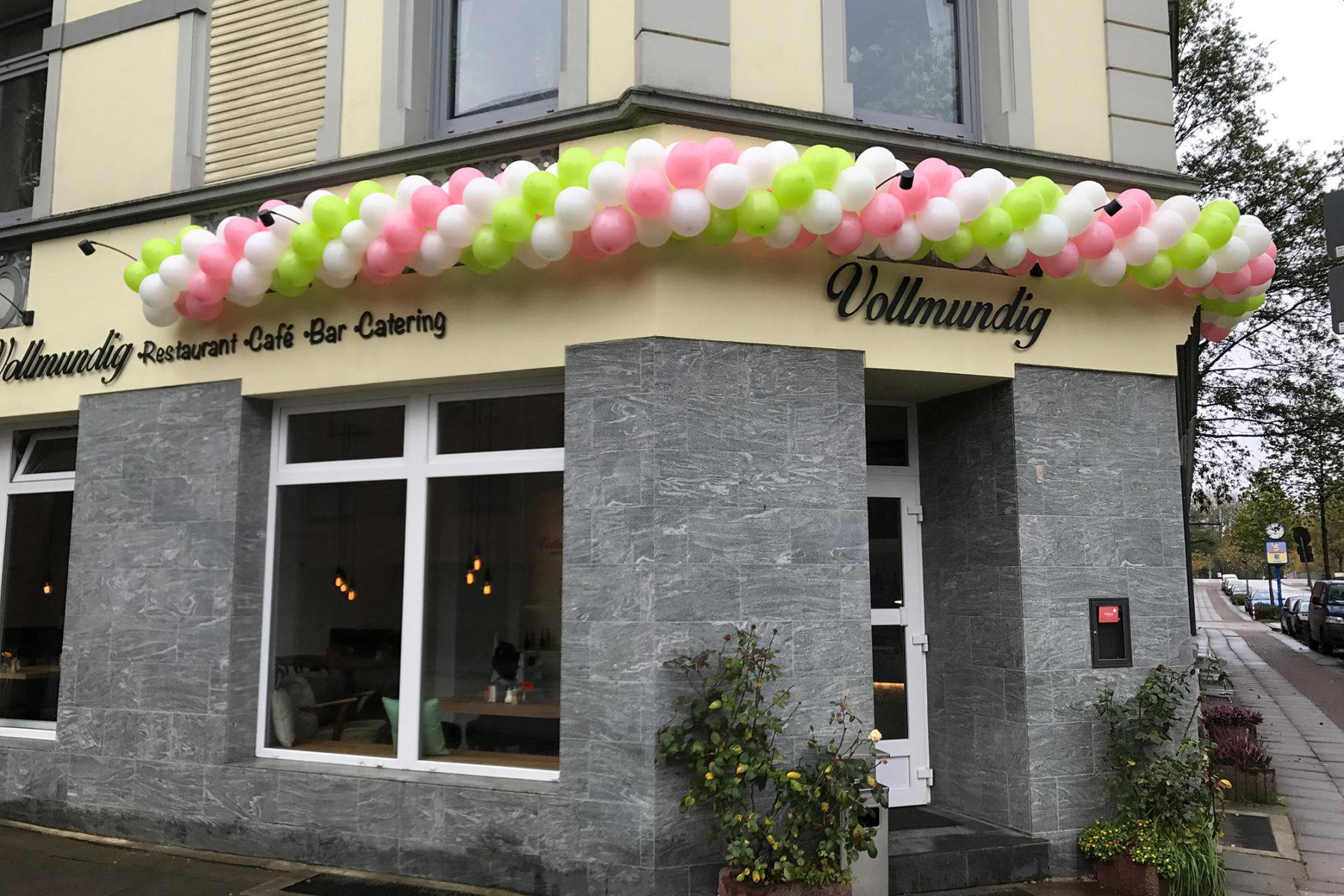 Event-Balloons Vollmundig lecker Essen Baguette Portugiesisch Essen Neueeröffnung