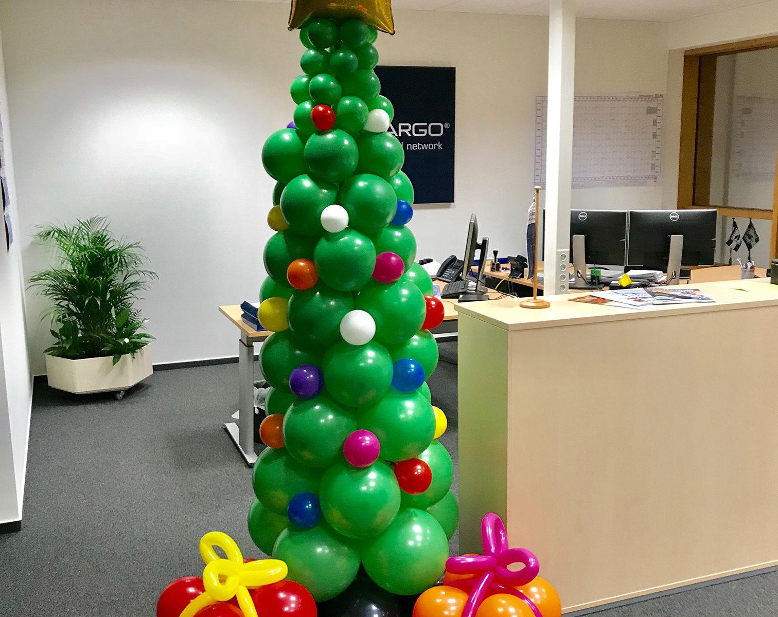 Event-Balloons Weihnachten Tannenbaum Geschenke Weihnachtskugeln